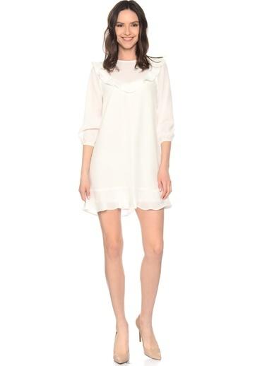 After Market Elbise Beyaz